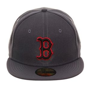 Men's New Era 59FIFTY Boston Red Sox Gray Cap